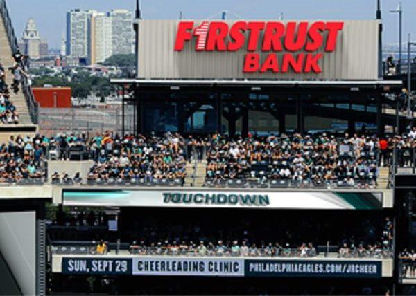 Conshohocken's Firstrust Bank Is New Official Bank Sponsor of Philadelphia Eagles