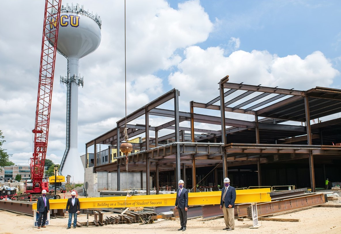 As It Ushers in Its 150th Anniversary, WCU Hoists Final Steel Beam on Its Newest and Largest Building