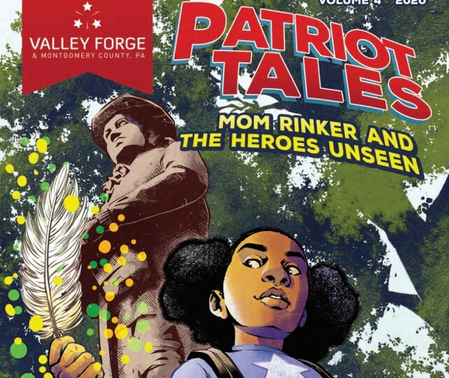 Explore Area's History in VFTCB's Fourth Patriot Tales Comic Book