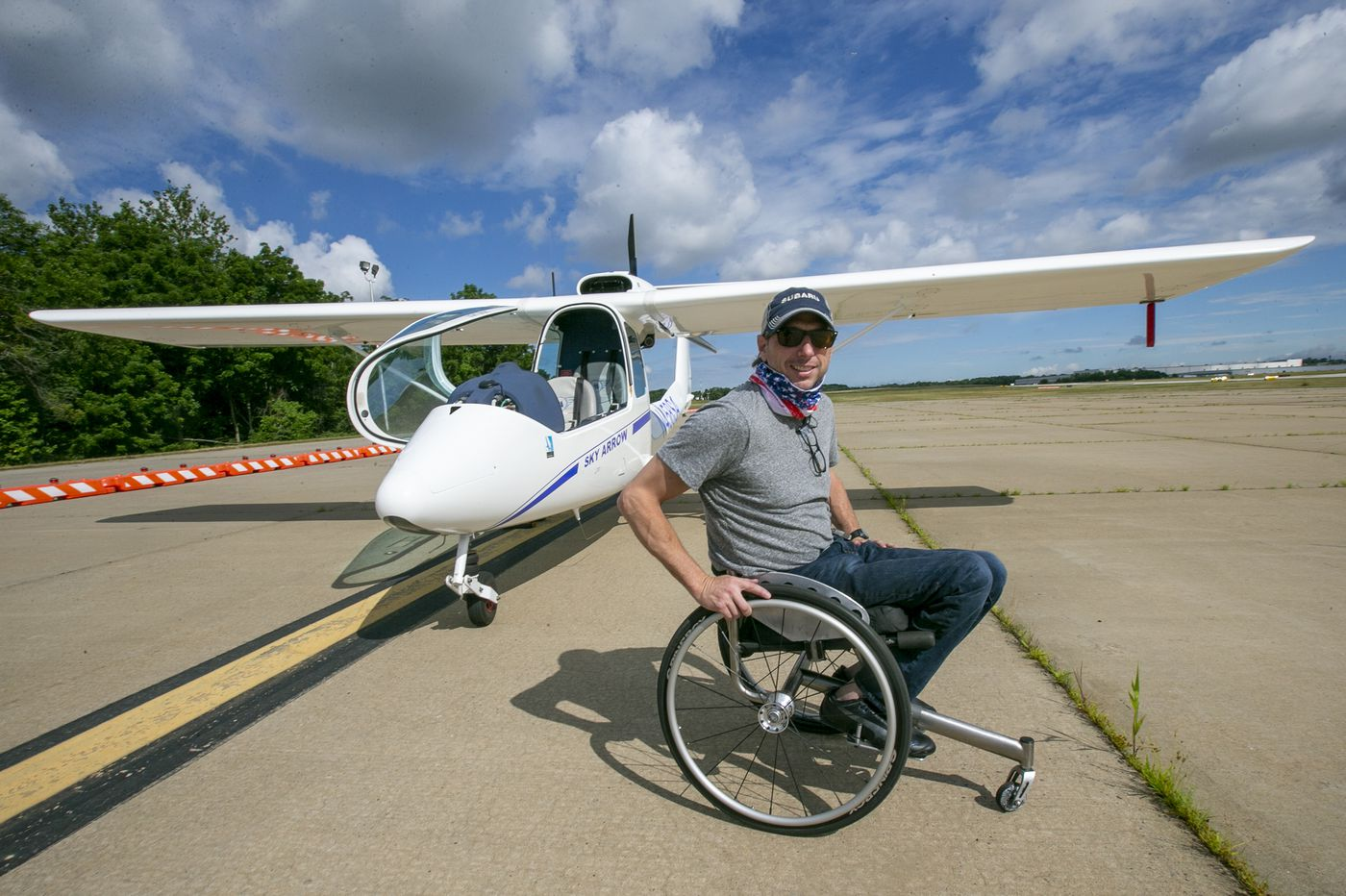 The Skies Beckoned This Pilot, and a Disability Wasn't Going to Stop Him