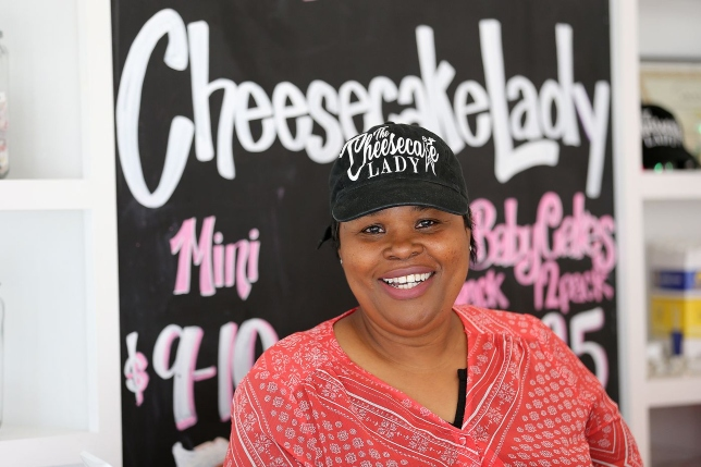 The Cheesecake Lady in Elkins Park Reopens to Customers Lining Up