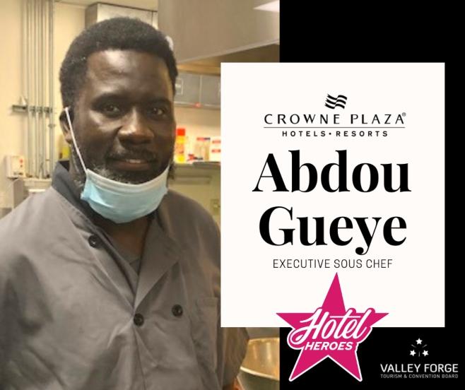 Hotel Hero: Abdou Gueye, Executive Sous Chef, Crowne Plaza KOP