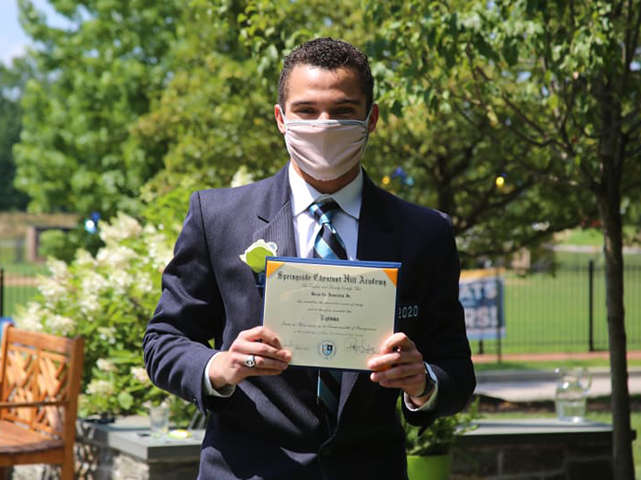 SCH Grad Helps Diabetics During Pandemic with His 'We Are Better Than This – America' Nonprofit