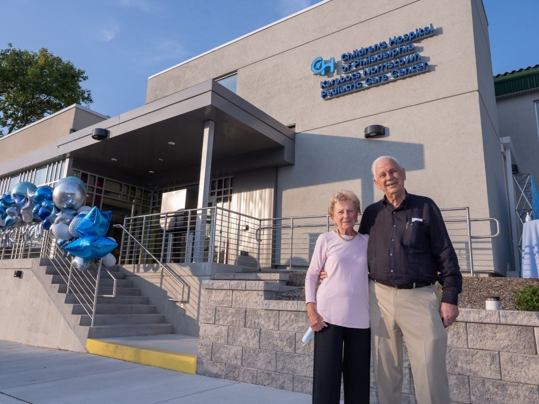 CHOP Opens New and Enlarged Primary Care Center Named After Local Philanthropists