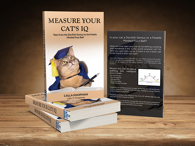 'Measure Your Cat's IQ' with New Book by Ambler Feline Behavior Specialist