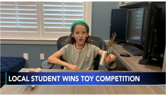 Horsham Third-Grader Takes Top Spot in National Toy Competition with 'Slap Happy' Invention