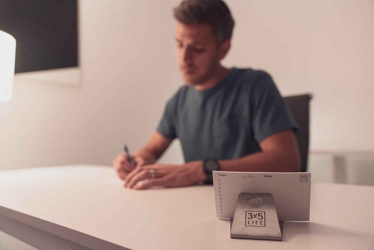 Local Man Creates Simple Product to Help People Have Greater Clarity, Presence in Their Lives