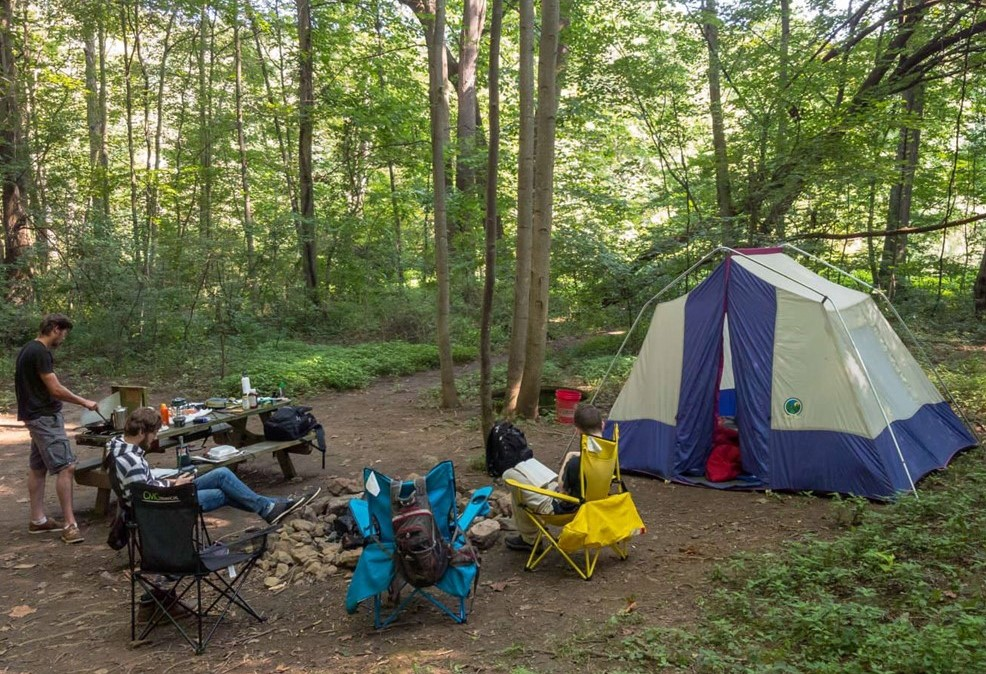 Three Sites in Chester County Among Region's Eight Amazing Places to Camp