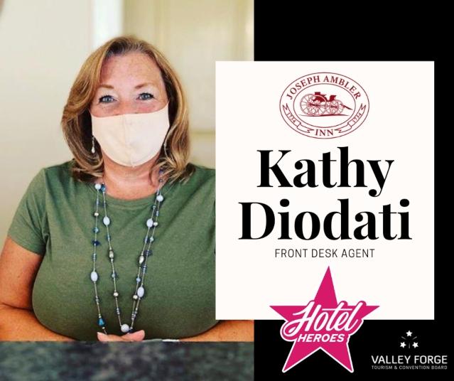 Hotel Hero: Kathy Diodati, Font Desk Agent at Joseph Ambler Inn