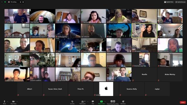 50+ Kids Participate Virtual Astronaut Summer Camp at MCCC