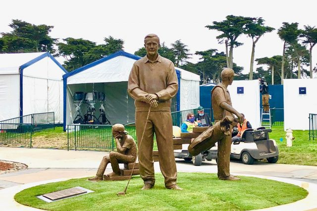 Sculpture by Glenside Artist Made It to PGA Championship in San Francisco on Time