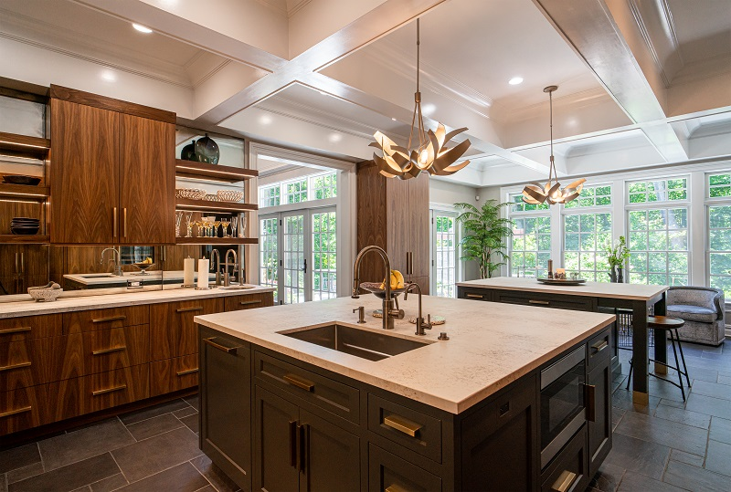 Village Handcrafted Cabinetry in Lansdale Shows Off Its Capabilities with Special Surround Project