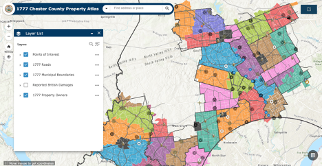 Who Owned a Property in 1777? Chester County Unveils Interactive Tool to Help Residents Trace It