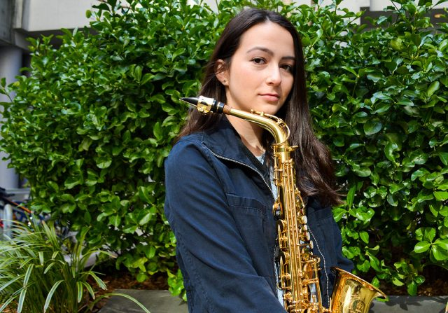 Lower Merion Saxophonist, Founder of Young Women in Jazz Group, Working on Her First Album