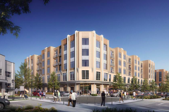 Kimco Realty Trust to Move Forward with Apartment Building at Suburban Square in Ardmore