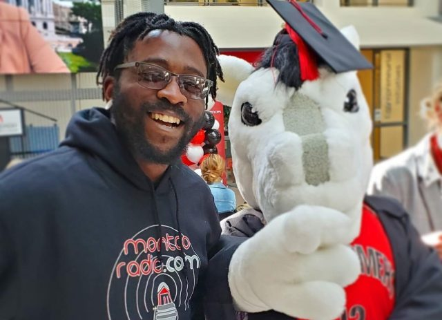 Reaching the 'Peake' –  The Student Speaker for MCCC's Drive-in Commencement