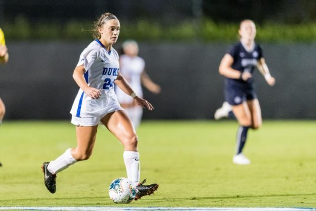 North Wales Native Looking to Build on Breakout Soccer Campaign at Duke in Her Junior Season