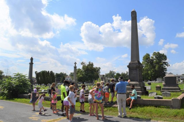 Lend a Hand – Help Spruce Up Pottstown's Edgewood Historic Cemetery on Saturday, Oct. 3