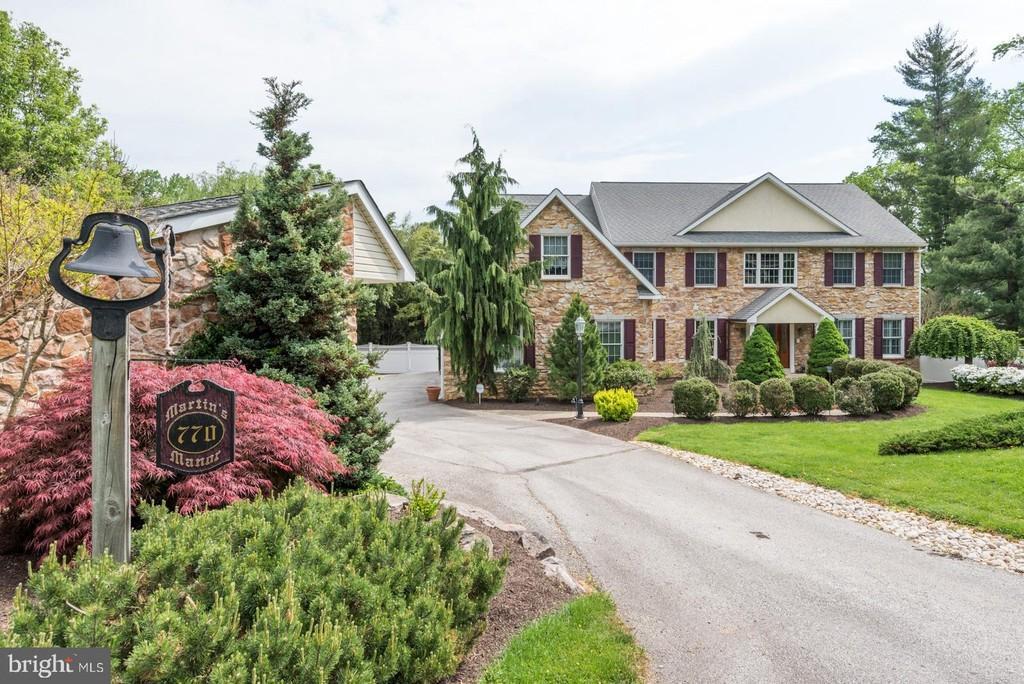 Malvern Bank House of the Week: Spectacular Stone-Front Colonial in King of Prussia