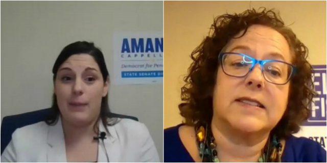 PA 17th District Senate Candidate Forum: Amanda Cappelletti and Ellen Fisher