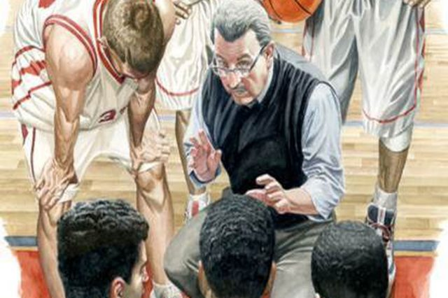 Legendary Germantown Academy Basketball Coach Subject of Philly Artist's Illustration