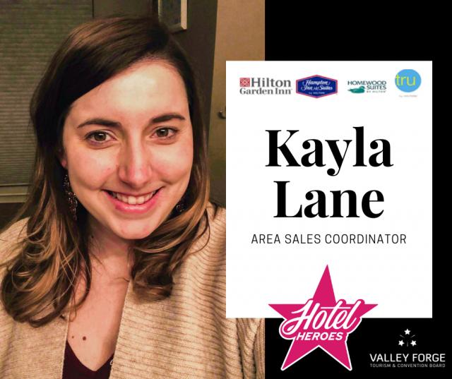 Hotel Hero: Kayla Lane, Area Sales Coordinator