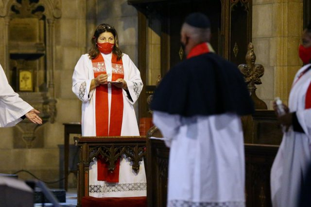 First Female Hispanic Priest Ordained at St. John's Episcopal Church in Norristown