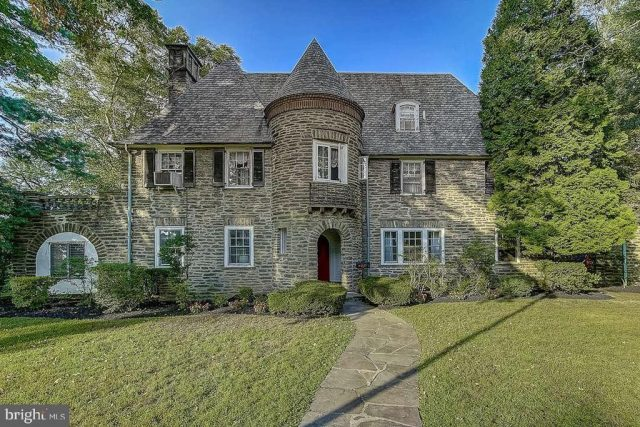 Malvern Bank House of the Week: Regal French Chateau in Jenkintown