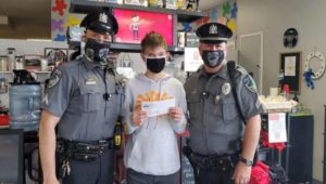 west norriton police with barista jake