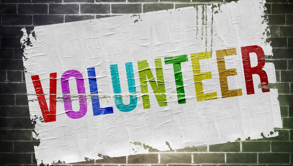 Volunteering Witeboard