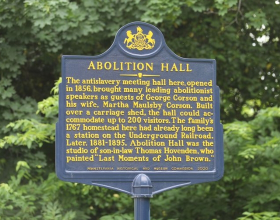 Abolition Hall Plymouth Meeting, PA