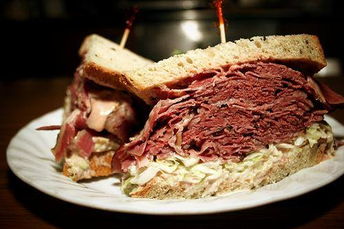 ben and irv's corned beef sandwich montco foodie