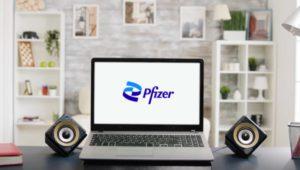 computer desk Pfizer