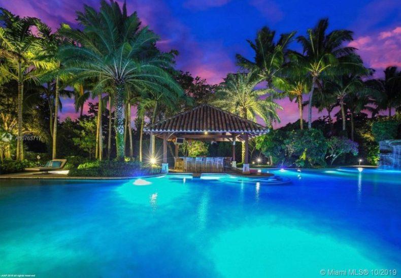 Joseph Lashinger  pool new house