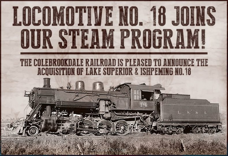 Colebrookdale Railroad steam engine