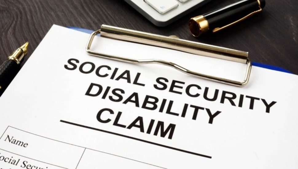 social security form and Disability Benefits