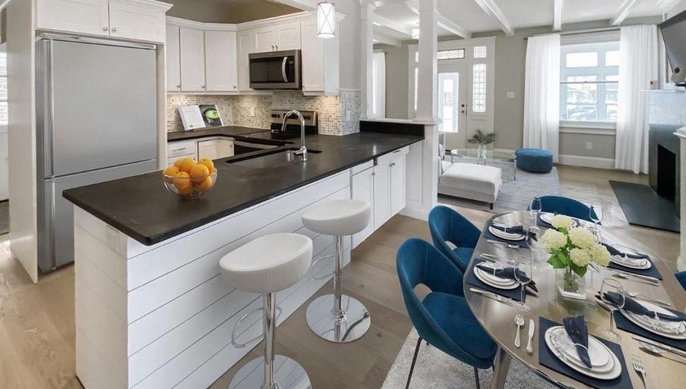 house kitchen real estate