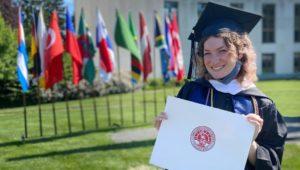 Arcadia University graduation