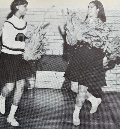 Paula F. McCauley - Overbrook High School Cheerleader