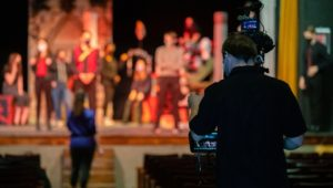 The show must go on, students acting at Perkiomen School