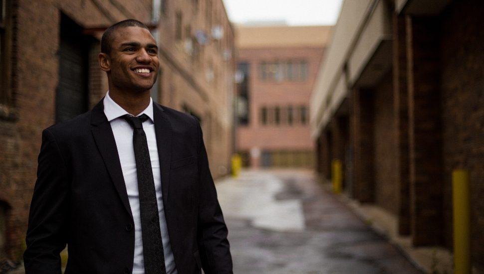 Young Black Professional Millennial Superstar