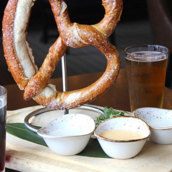 Avalon Brew Pub Soft pretzel