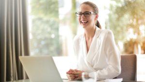 montco millennial office woman