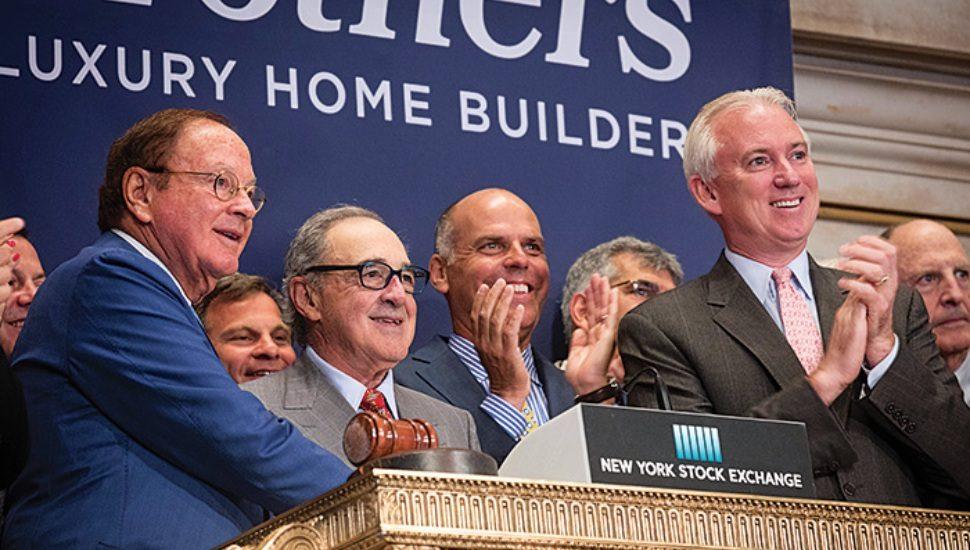 toll borthers new york stock exchange montco