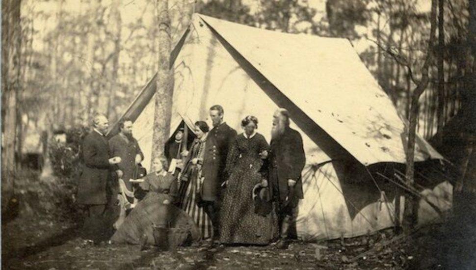 Anna Morris Holstein Valley Forge Camp