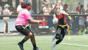 Athena Athletics female flag football