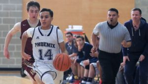 Basketball Friends' Central School.
