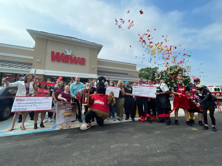 Upper Darby Wawa grand opening Mare of easttown