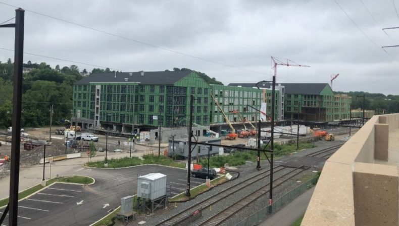 Conshohocken apartments construction