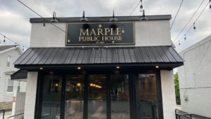 The Marple Public House, the latest venture by two Broomall business partners.